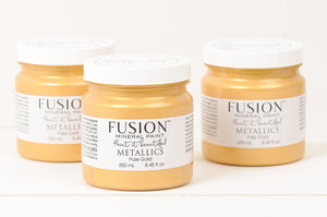 Fusion™ Mineral Paint | Metallic Pale Gold - Prairie Revival