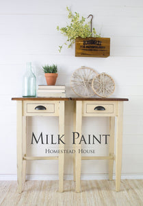 Homestead House Milk Paint | 1 Qt. Buttermilk Cream - Prairie Revival