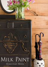 Load image into Gallery viewer, Homestead House Milk Paint | 1 Qt. Coal Black - Prairie Revival