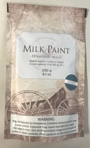 Homestead House Milk Paint | 1 Qt. Rideau Blue - Prairie Revival