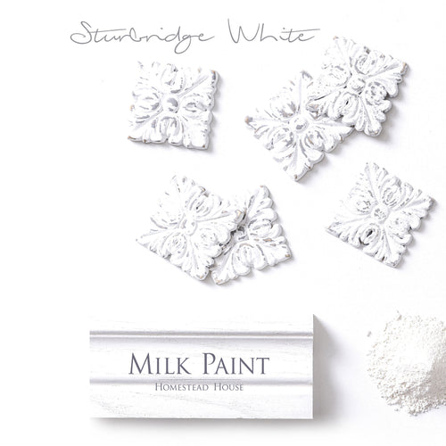 Homestead House Milk Paint | 1 Qt. Sturbridge White - Prairie Revival