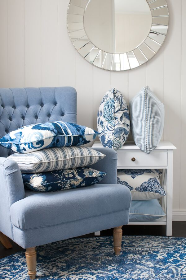 Our Hamptons Collection Cushions... The Essence of Coastal Style