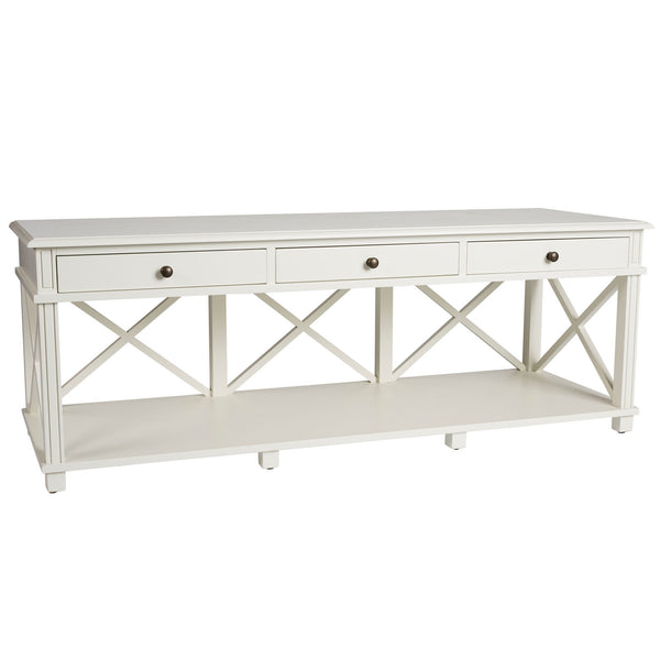 Manto Entertainment Unit White