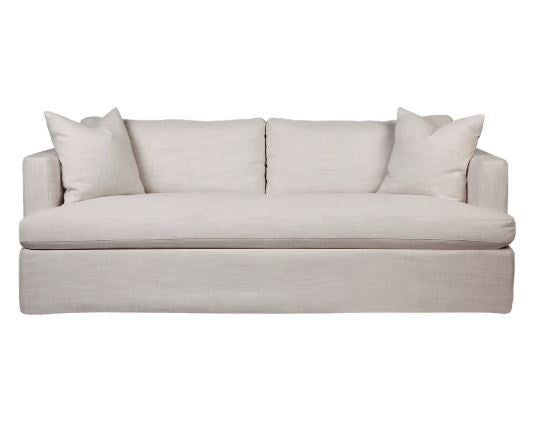 Birkshire Slip Cover 3 Seater Sofa Off White