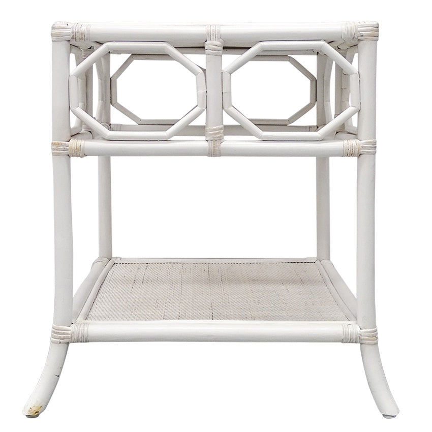 Cairns Side Table White