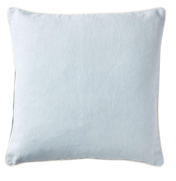 Basic Sky Blue Cushion 50cm