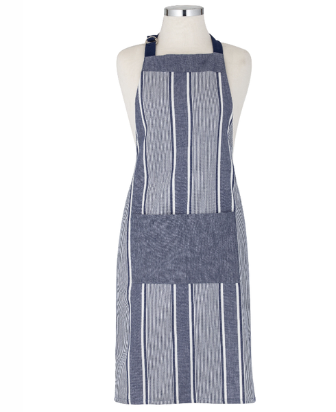 Ellis Apron Blue