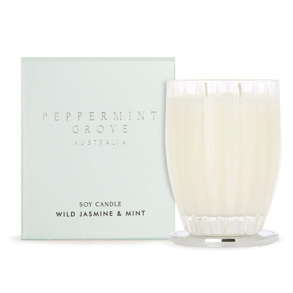 Peppermint Grove Wild Jasmine & Mint Candle 350g