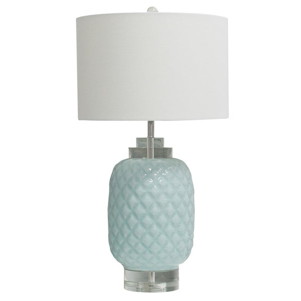 Duckegg Table Lamp Clear Base