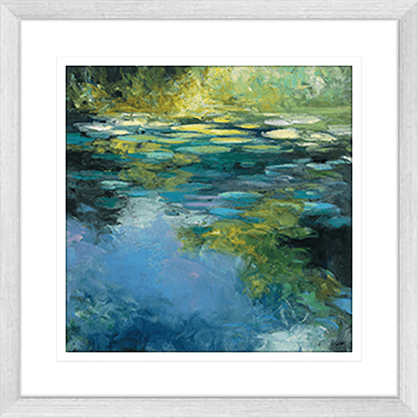 Water Lillies I Framed Print