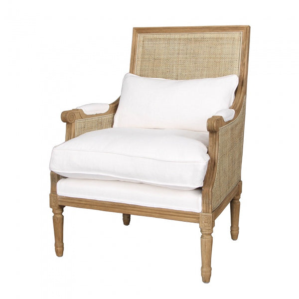Hicks Caned Armchair