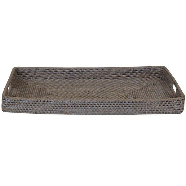 Verandah Rattan Tray Rectangle Medium