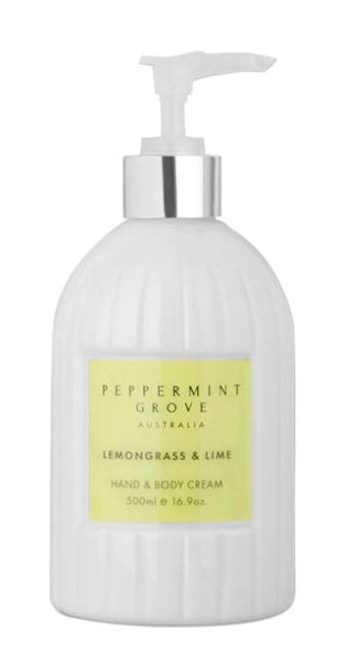 Peppermint Grove Lemongrass & Lime Hand & Body Cream
