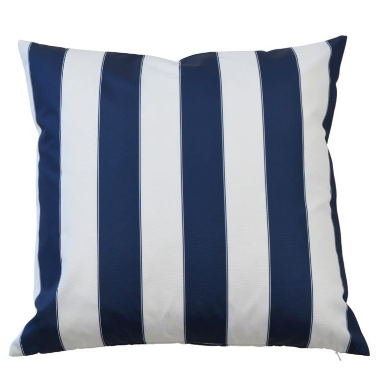 Capri Navy Outdoor Cushion Cover