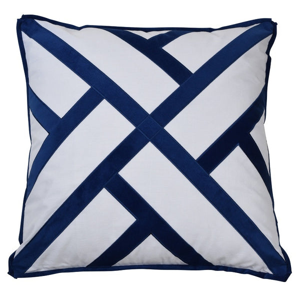 Freemantle Navy Cushion Cover