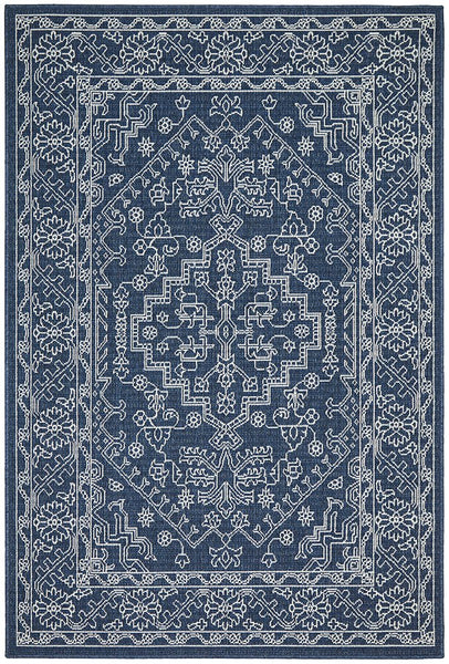 Calypso Navy Outdoor Rug