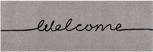 Welcome Doormat Long