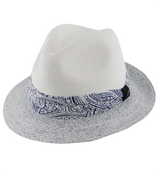 Ladies Fedora Thea Blue