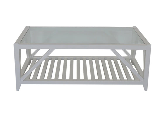 Benedict Coffee Table Rectangle White