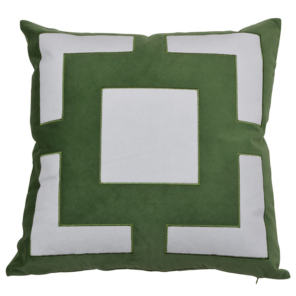 Cremorne Green Cushion Cover 50cm