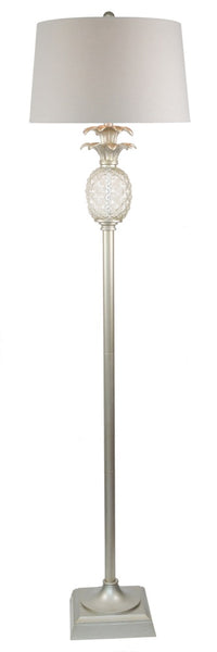 Mia Floor Lamp Antique Silver