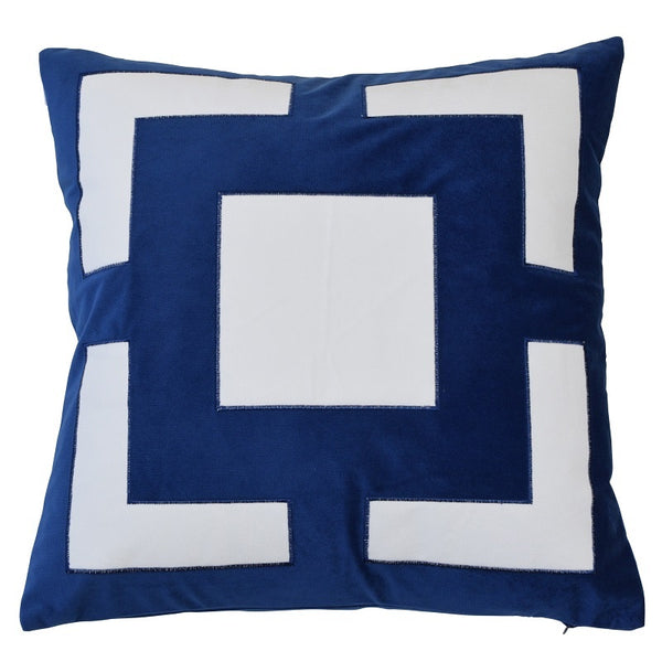 Cremorne Navy Cushion Cover 50cm