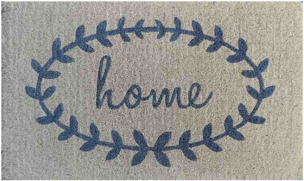 Home Wreath Doormat