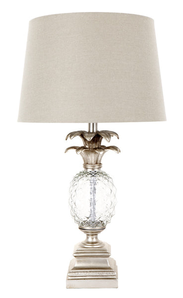Mia Table Lamp Antique Silver