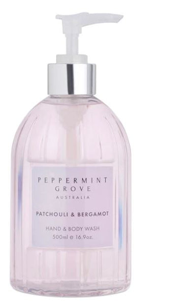 Peppermint Grove Patchouli & Bergamot Hand & Body Wash