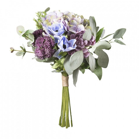 Hydrangea Mix Bouquet Lav/Purple