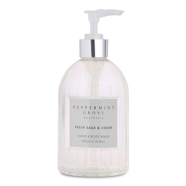 Peppermint Grove Fresh Sage & Cedar Hand & Body Wash