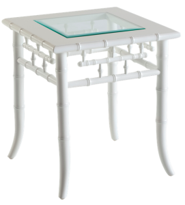 Key West Side Table White