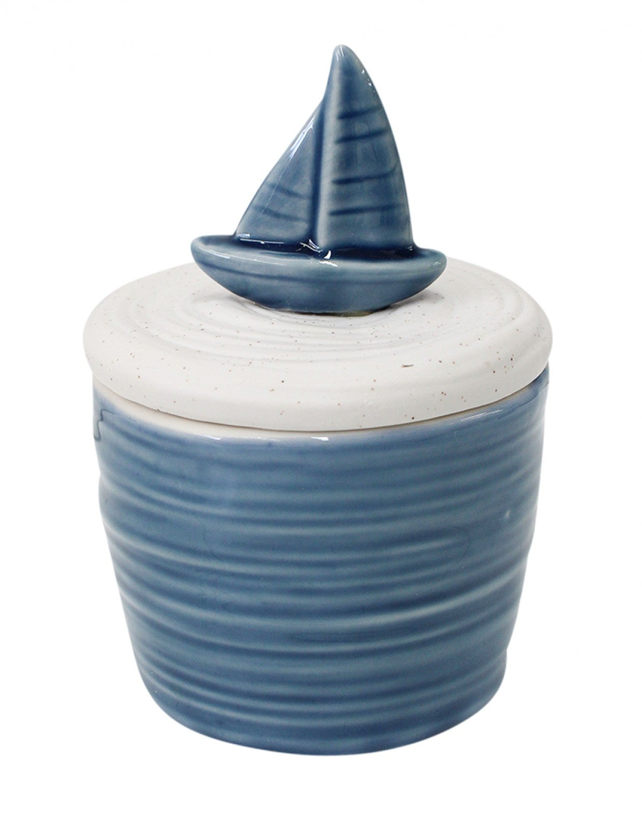 Boat Candle with Lid