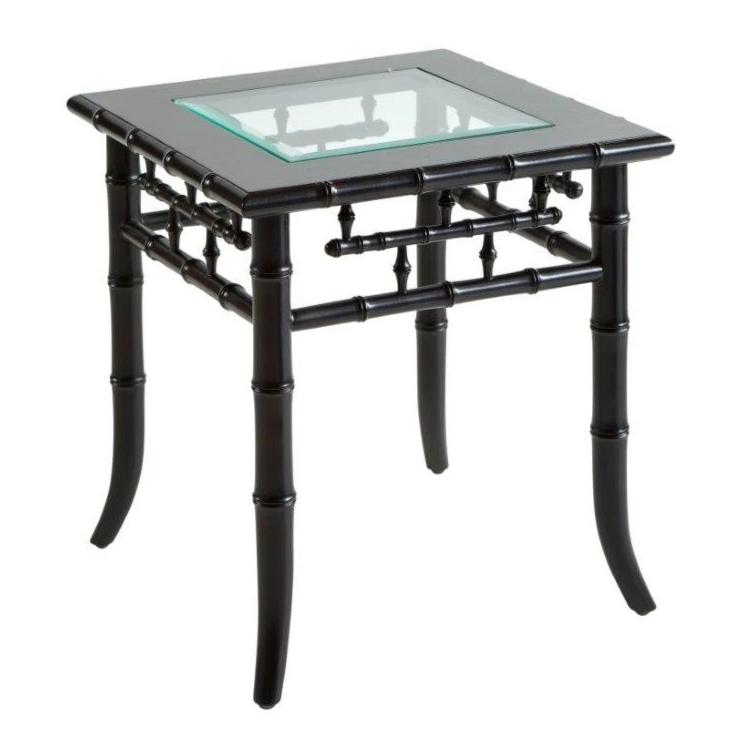 Key West Side Table Black