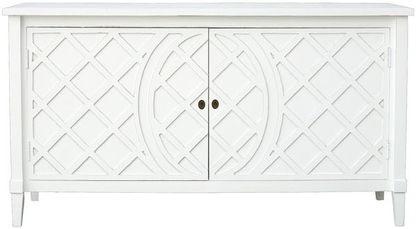 Lattice Buffet White