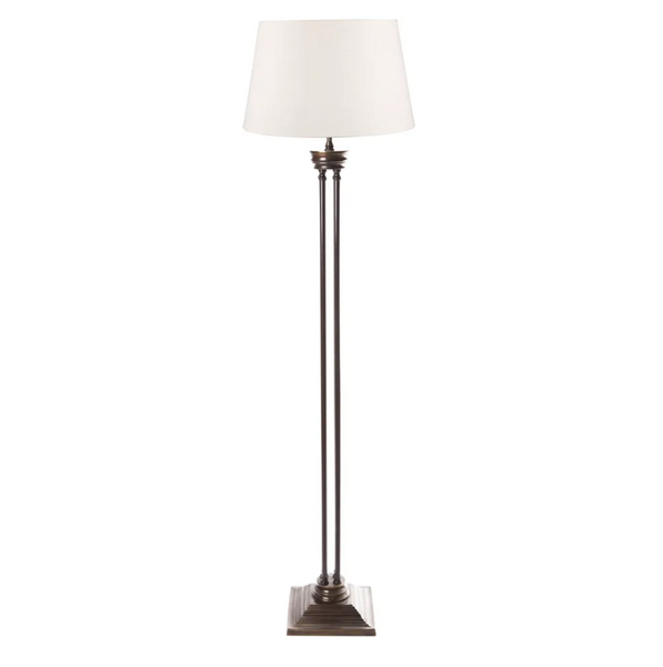 Hudson Floor Lamp Bronze with Shade