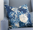 Indigo Bouquet Cushion