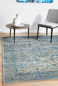 Paige Rug Silver/Blue