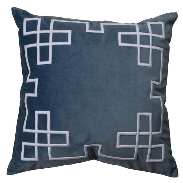 Palm Springs Vintage Blue Cushion Cover