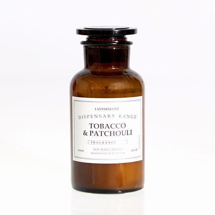 Lanterncove Tobacco & Patchouli Candle