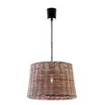 Wicker Round Hanging Lamp Small