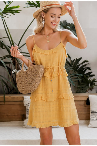 Cherie Spaghetti Strap Dress