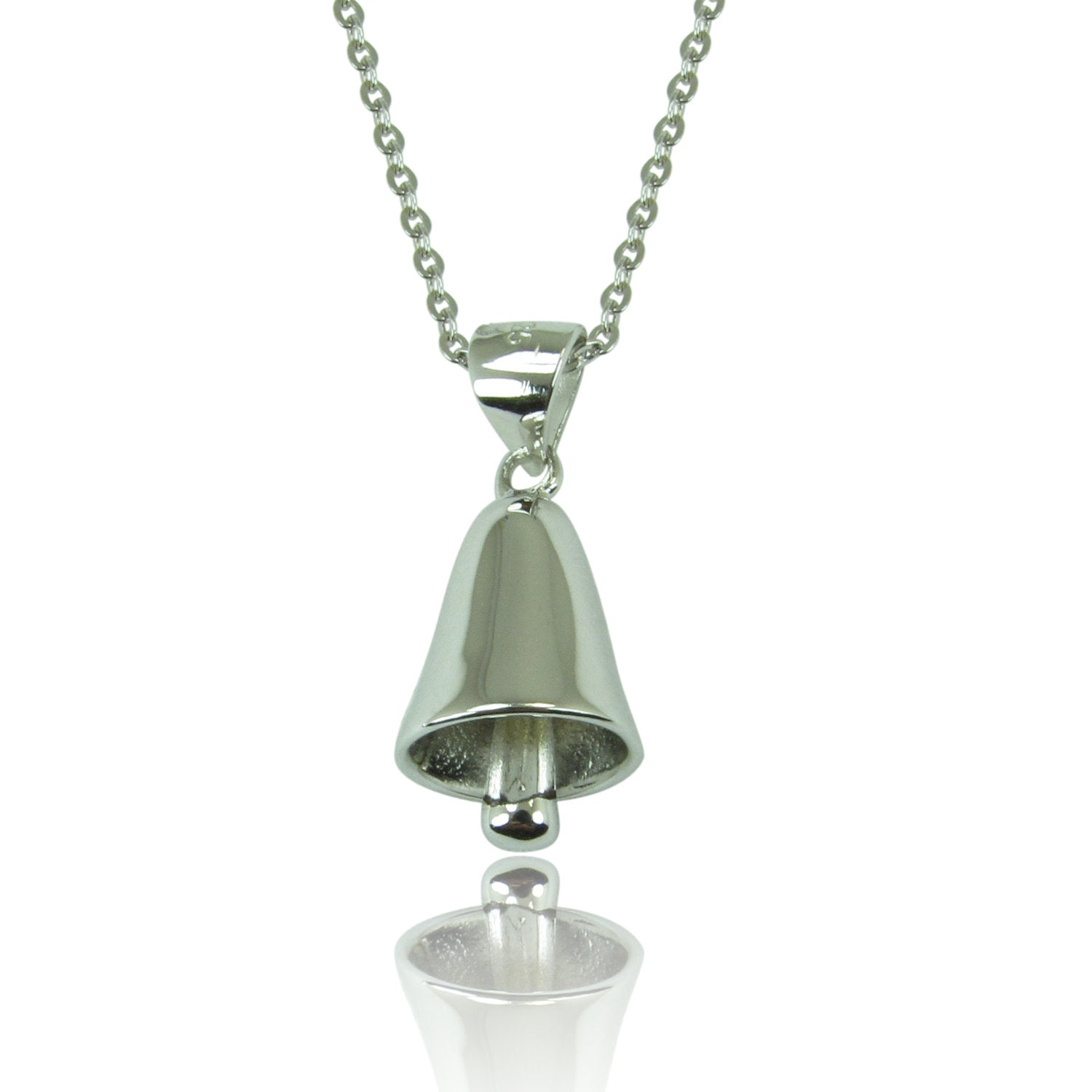 HOLIDAY BELL STERLING SILVER NECKLACE