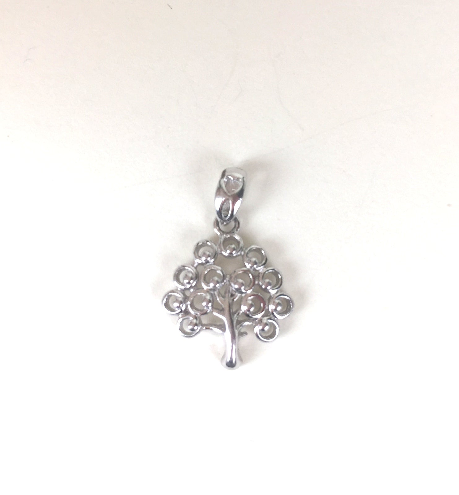 TREE STERLING SILVER PENDANT