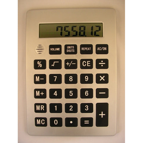 Jumbo Talking Calculator with Display