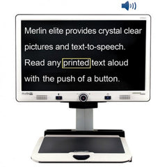 Merlin Elite HD/OCR Desktop Video Magnifier