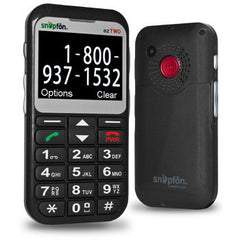 Snapfon ezTwo3G Cell Phone