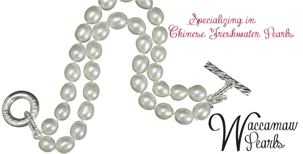 Specializing in Chinese fresh water pearls