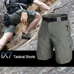 Tactical outdoor tooling multi-bag breathable shorts
