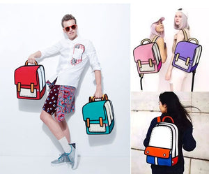 NEWEST STYLE 2D BACKPACK